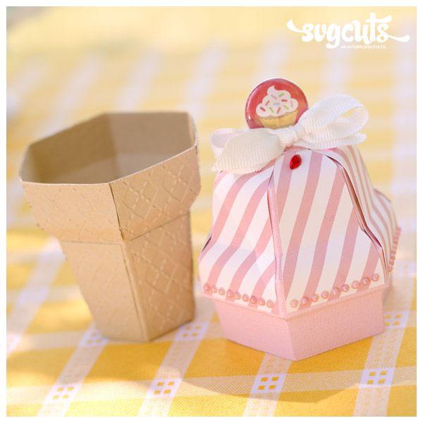 Ice Cream Birthday SVG Kit