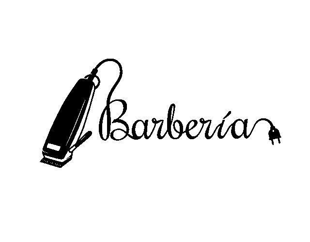Vinilo adhesivo para la decoraci n de barber as o - Diseno de peluquerias ...