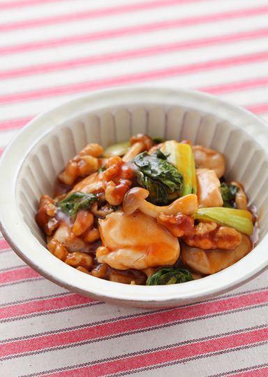 くるみと鶏肉の甘酢炒め のレシピ・作り方 │ABCクッキングスタジオのレシピ | 料理教室・スクールならABCクッキングスタジオ