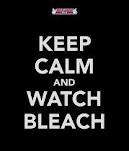 I can't keep calm, but i will DEFINITELY watch bleach :D