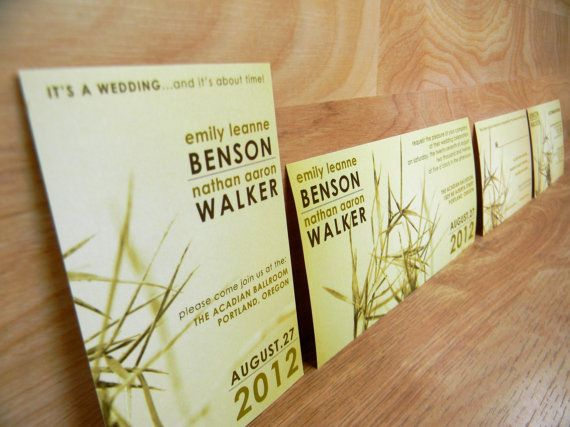 Beach Grass Wedding Invitations by papermadeinvites on Etsy, $1.50: 150, Grass Image, 1 50, Etsy, Weddings, Grass Motif, Wedding Invitations, People, Beaches Grass