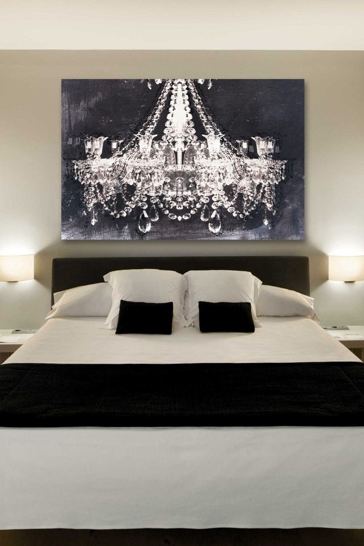 The Chandelier Art Gives Such A Romantic Touch To This Bedroom. Rather Than  Paying For