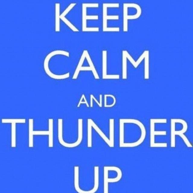 Thunder up!: Okc Thunder, Thunder Struck, Im Goin, Neat Stuff, Random Aw3 0M3N3, Goin Thunder, Random Stuff