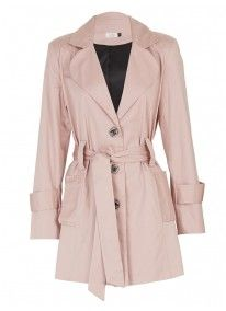 Trench Coat Pale Pink