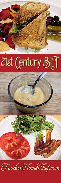 21st Century BLT - I've updated your standard BLT to a healthier version fit for the 21st century... enjoy! --------- #Food #Cooking #Recipes #Recipe #Cuisine #GreatFood #HomeCooking #Sandwiches #SandwichRecipes #BLTSandwich #BLT #BLTRecipes #HealthyRecipes