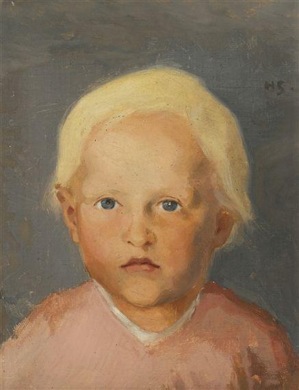FLAXEN-HAIRED BOY - Helene Schjerfbeck