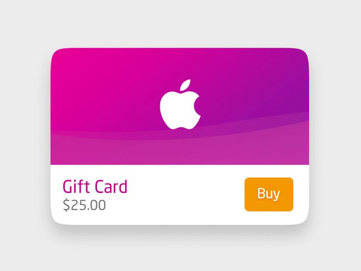 Gift Card by Chuan² on Dribbble: https://dribbble.com/shots/2045026-Gift-Card