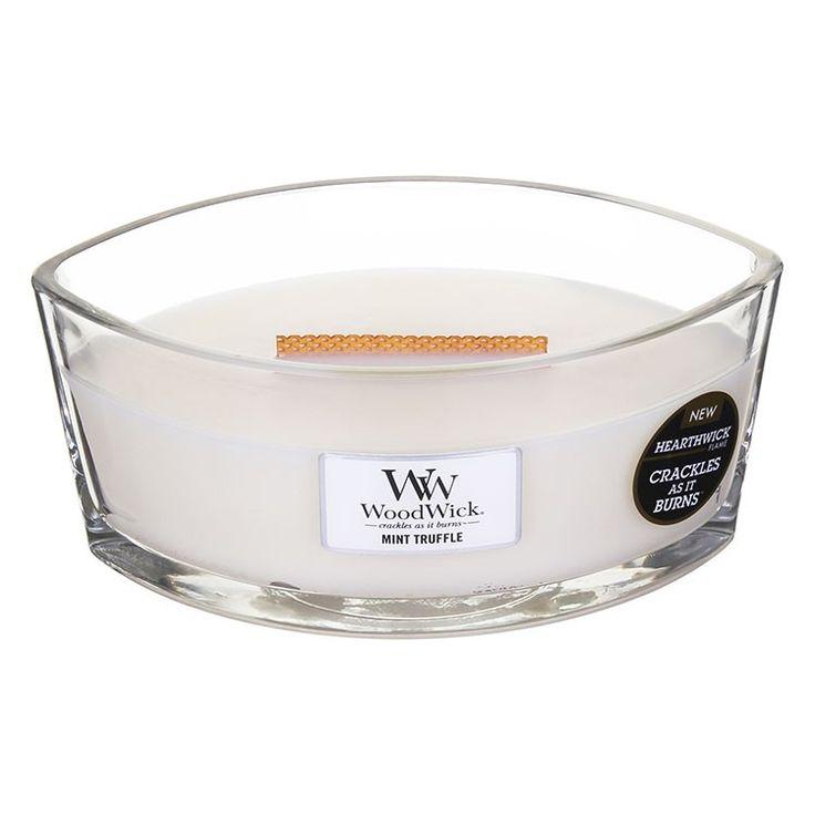 Hearthwick Oval Mint Truffle Candle