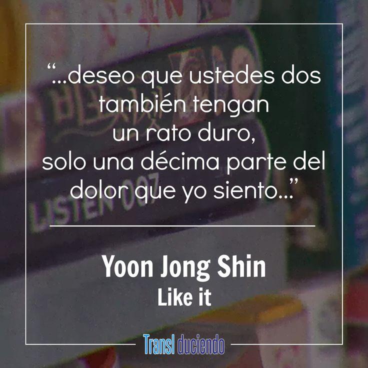"""Hoy traemos la traducción de una canción que actualmente está siendo bastante exitosa en corea, nos referimos a """"Like it"""" de Yoon Jong Shin. Esta es una canción emotiva, honesta y bien interpretada. La puedes disfrutar siguiendo el enlace a continuación:  https://goo.gl/qAZ2pk #YoonJongShin #LikeIt #KPop #Listen010LikeIt  Si te gustó, por favor ayúdanos a compartirla y recuerda que queremos saber qué canciones te gustaría que tradujéramos, por favor cuéntanos en los comentarios."""
