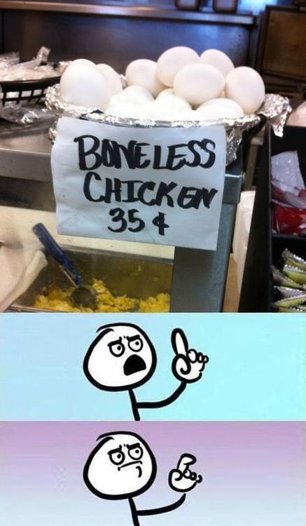 Boneless Chicken: Boneless Chicken