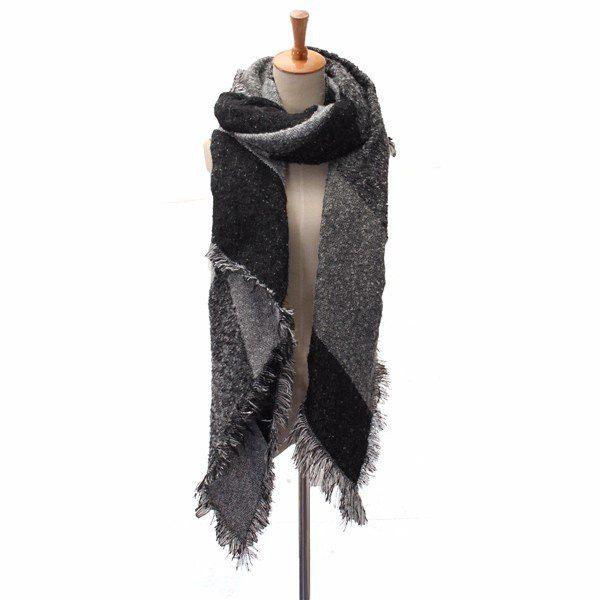 Women Blanket Scarf Cashmere Pashmina & Wool Scarf Shawl