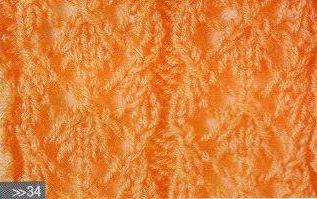 Patrón #1456: Punto Calado a Dos Agujas | CTejidas [Crochet y Dos Agujas]