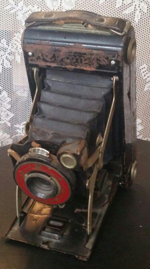 Antieke fotocamera
