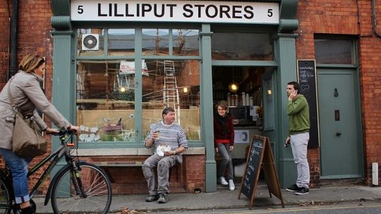 Lilliput Stores in Dublin 7 - great coffee, lovely food.
