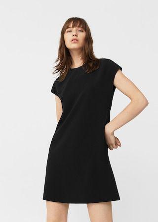 Flowy shift dress -  Woman   MANGO United Kingdom