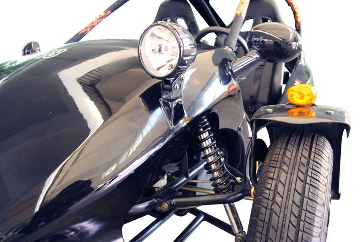 Reverse Trike Frame Design | Do I Really Want One of These? Kandi Viper 250cc Reverse Trike