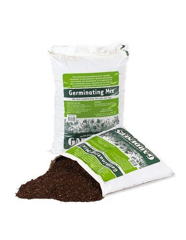 Germinating Mix, 9 Qts. by Gardener's Supply. $6.95. Our Professional Germinating Mix is a finely textured, sterile blend of sphagnum peat and vermiculite that is pH-adjusted. It also contains trace minerals to stimulate root growth. It's ideal for any type of seedstarting system. 9-quart bag.
