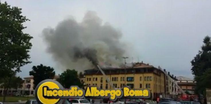 Incendio Albergo Roma  https://www.facebook.com/video.php?v=531716796951881
