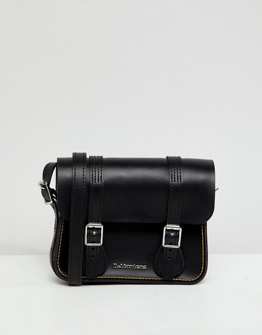 f2e088f8b8b4 Dr Martens 7inch Leather Satchel | Dr. Martens | Leather satchel, Dr ...