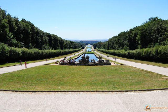 Reggia di caserta, tra giardini stupendi e appartamenti reali