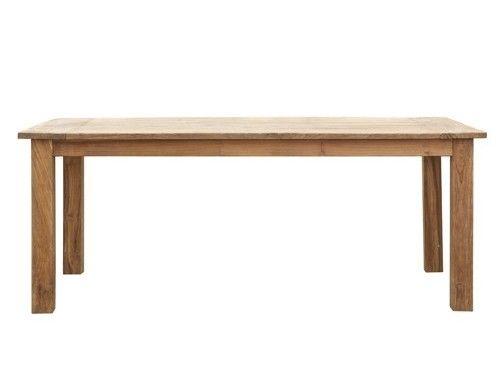 Les 25 meilleures id es de la cat gorie table en teck sur for Tres grande table a manger