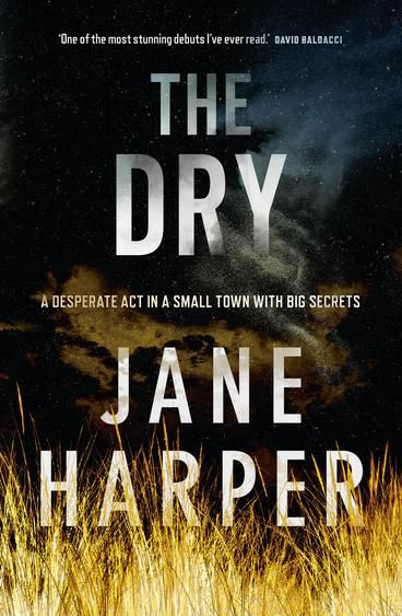 The Dry by Jane Harper.  Luke Hadler turns a gun on his wife and child, then himself. The farming community of Kiewarra is facing life and death choices daily. If one of their own broke under the strain, well...  When Federal Police investigator Aaron Falk returns to Kiewarra for the funerals, he is loath to confront the people who rejected him twenty years earlier. But when his investigative skills are called on, the facts of the Hadler case start to make him doubt this murder-suicide…