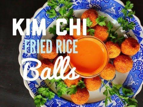 KimChi Fried Rice Balls- Arancini Style ♡ #Vegan Prepare for the tasty firestorm