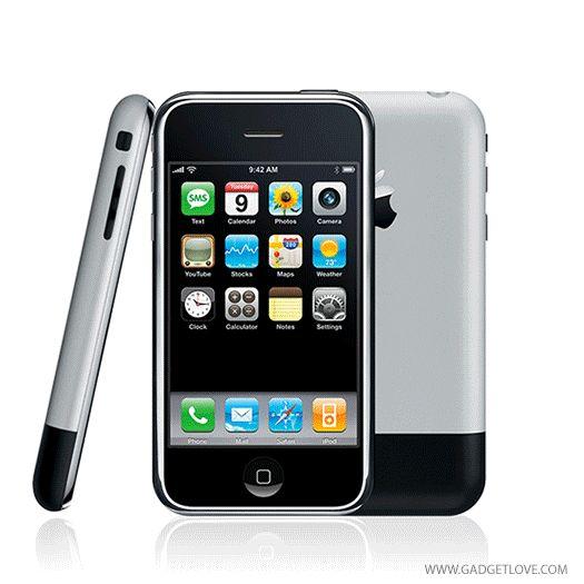 evolution of iPhones