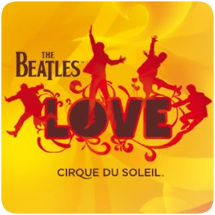 Can't Wait For Next Month!   The Beatles LOVE a Cirque du Soleil Show at The Mirage in Las Vegas