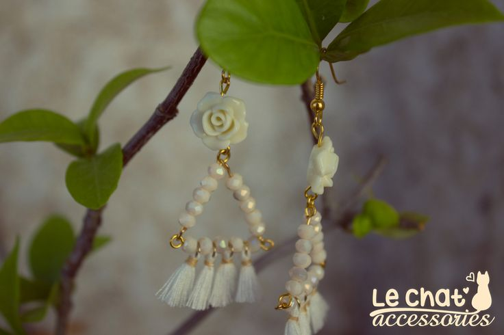 ***Καινούργια*** σκουλαρίκια σε bohemian διάθεση με παστελ αποχρώσεις, για να κλέψετε τις εντυπώσεις το καλοκαιράκι! <3  #lechataccessories #handmadecreations #newearrings #bohochic #bohemianmood #ethnicjewelry  © Danae Lolou  Find me on Facebook & Instagram : Le Chat Accessories for more photos. https://www.facebook.com/lechataccessoriesdanae/  https://www.instagram.com/lechataccessories/