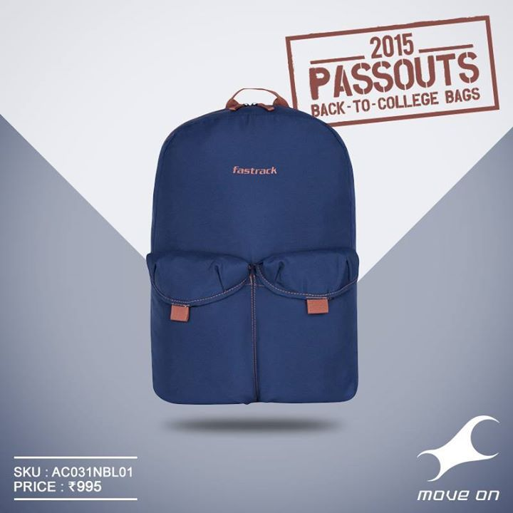 #Passouts bags from Fastrack - prepared for wherever you might nod off. http://fastrack.in/products/bags/sku-ac031nbl01/