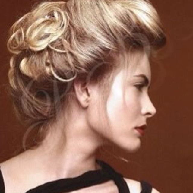 Pleasant 1000 Images About Hair Retro 1890 1950 On Pinterest Vanessa Short Hairstyles Gunalazisus