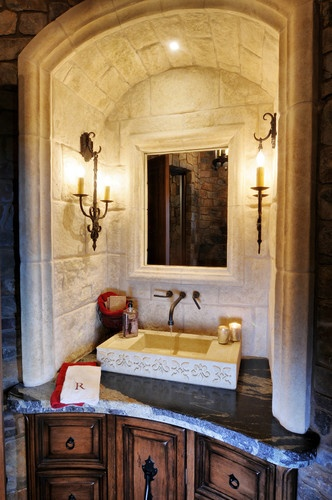 37 Best Images About Home Tuscan Bathroom On Pinterest Powder Vanities And Design