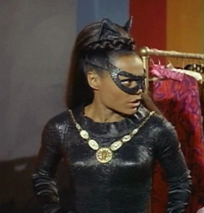I believe that Eartha Kitt was a WAY better Catwoman than Halle Berry!