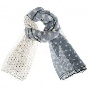 Rare Earth Amya Assorted Dotted Scarf