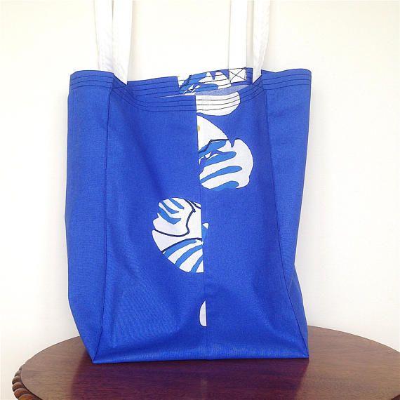 Marimekko Tote Bag. Dorm Bag. Long Handled Tote Bag. Large