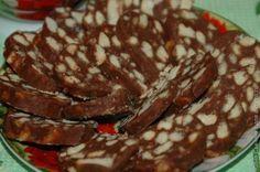 Шоколадная колбаса / Рецепты с фото