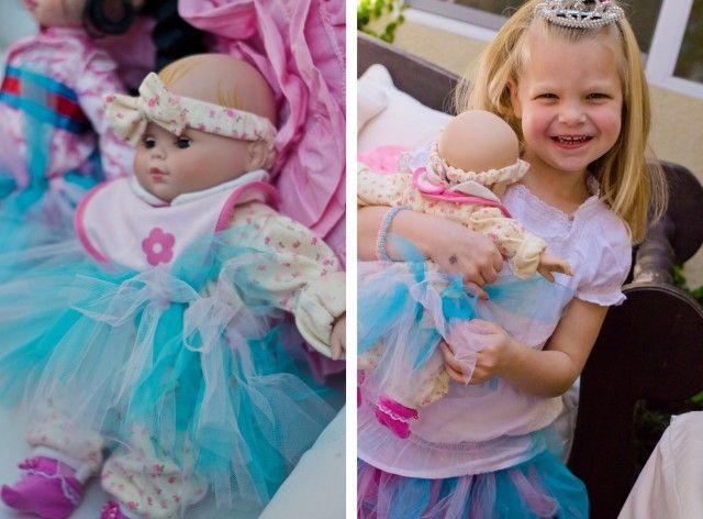tea party princess tutus baby dolls party