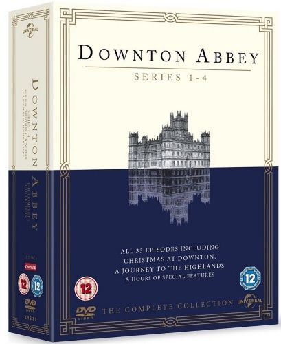 Downton Abbey - Kausi 1-4 + 3 Specials Box (15 disc) (DVD)