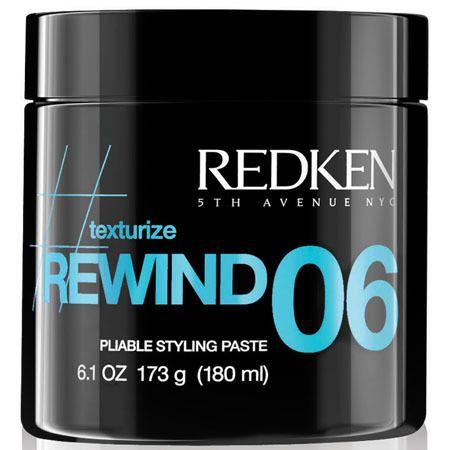 redken rewind 06 medium hold texturizing hair paste 5 oz
