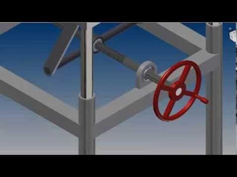 Mesa Carrinho Dobr 225 Vel Scissor Lift Table Cart Youtube