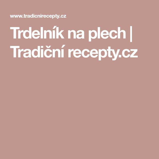 Trdelník na plech | Tradiční recepty.cz