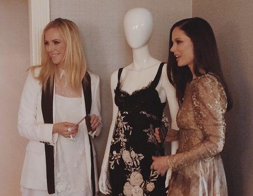 Georgina Chapman and Keren Craig of Marchesa Dish on Nicole Richie's 4 Wedding Dresses, Their Favorite Red Carpet Moment & More!