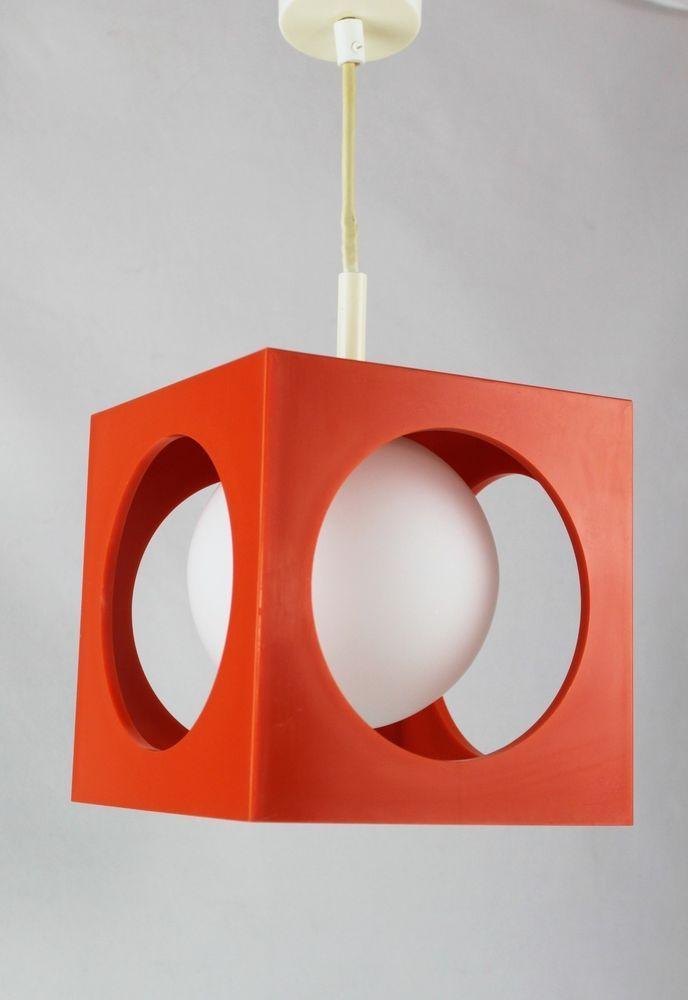 DesignRichard Jahre Hängelampe Age Essig Space 70er Lampe PXZiOku