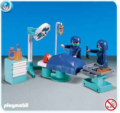 A present from my boyfriend: PlayMobil Operating Room set