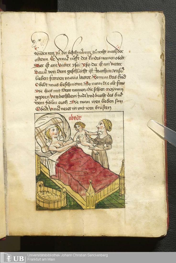 11 [3r] - Ms. germ. qu. 99 - Vita Jesu Christi in deutscher Bearbeitung - Page - Mittelalterliche Handschriften - Digitale Sammlungen Schwaben, [1472-76]