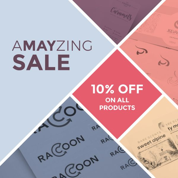 We are giving an Amayzing Sale to all. Get 10% OFF for any product type orders over $260. Claim your coupon now! #stickers #customstickers #decals #businesscards #postcards #stickerprinting #aMAYzingsale #promo #Auckland #NZ