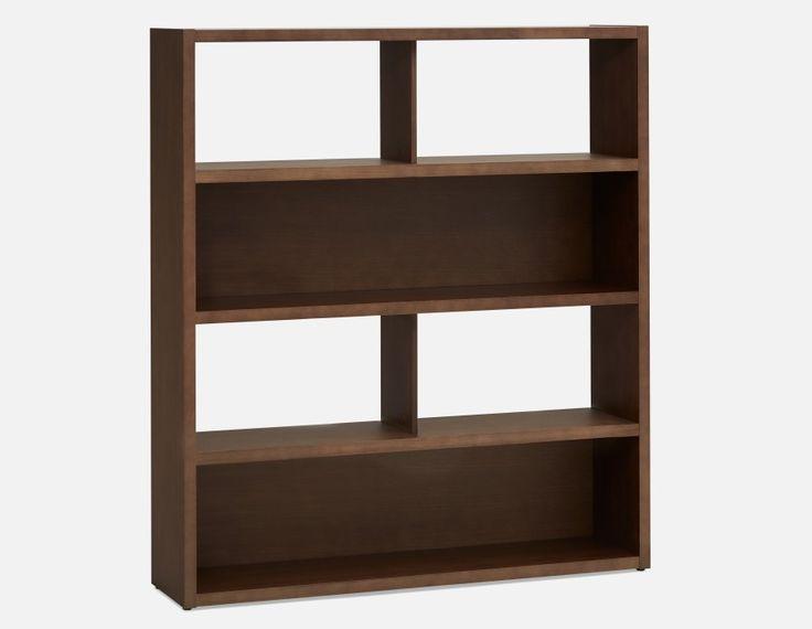 SANDER - Bookcase - Dark Oak