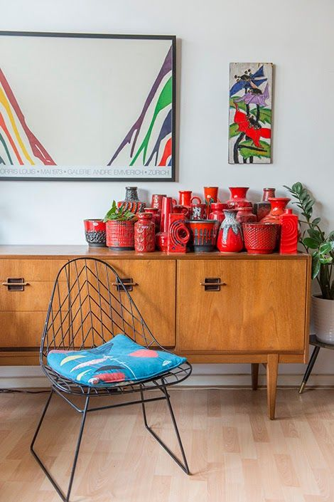 The West German Pottery collection and home of.... June DotBe