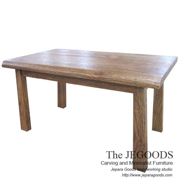 Gagah Rustic Dining Table.  We produce and supply #rusticfurniture at affordable price by skilled #craftsman from Jepara, Central Java - Indonesia.